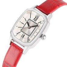 Фотография High Quality Ladies Quartz Wristwatches Leather Band Top Fashion Women Watches Roman Numbers Relogio Feminino Montre Femme 2018