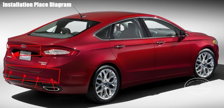Ford-Fusion-BIBI Alarm Parking System