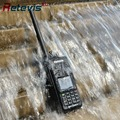 Ip67 profesional dmr retevis rt8 walkie talkie transceptor 5 w uhf400-480mhz cifrado digital portátil de dos vías de radio de largo sonó