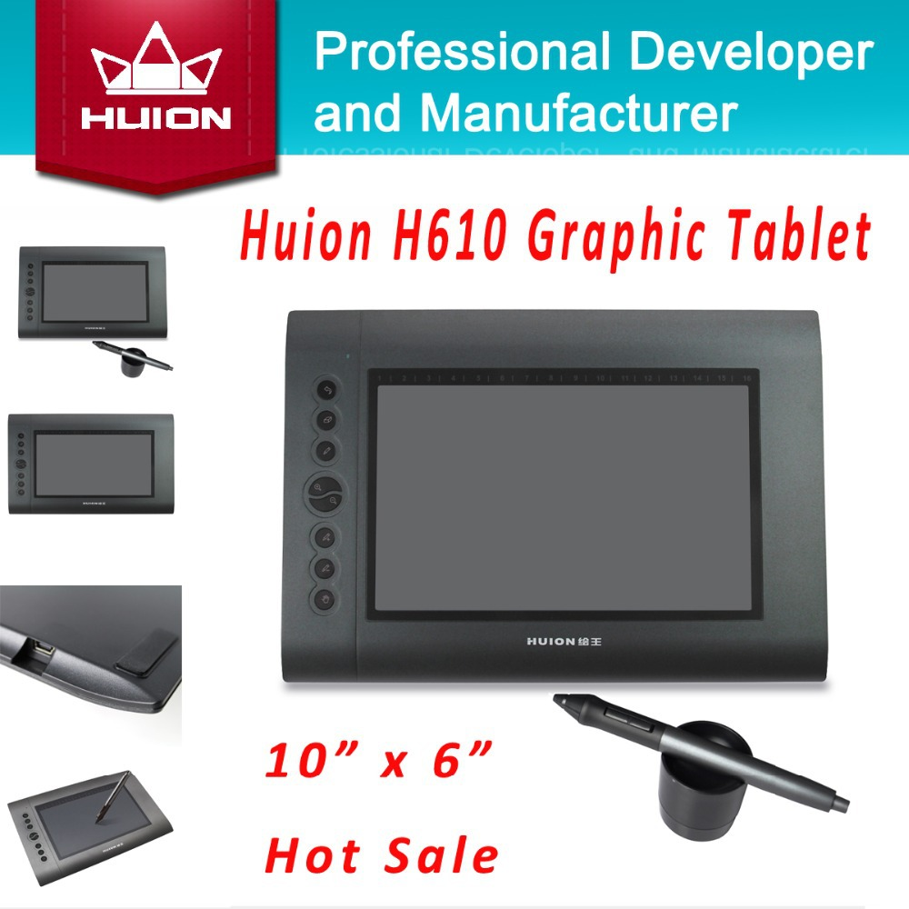 New HUION H610 10