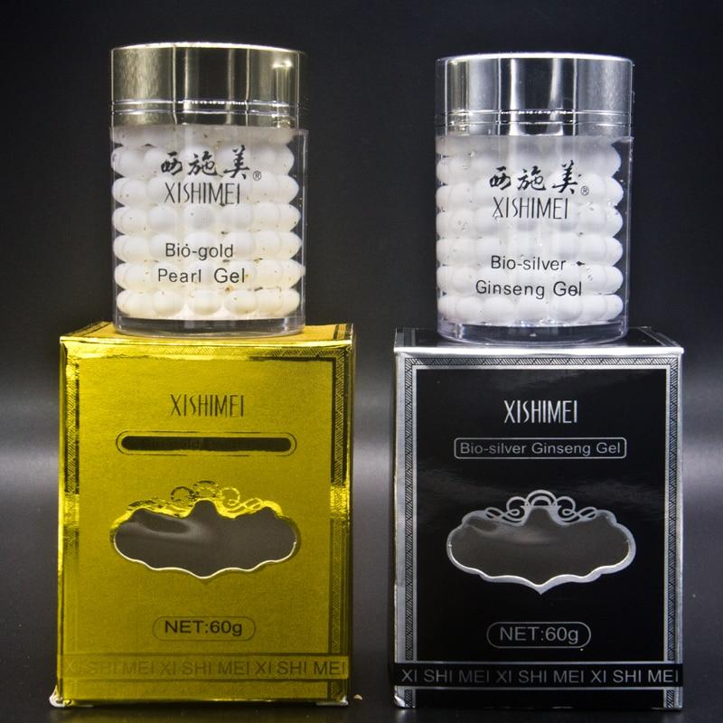 XISHIMEI 2018 New Packing 2 BOX Bio Gold day cream Phyto Pearl Night Cream Anti Aging
