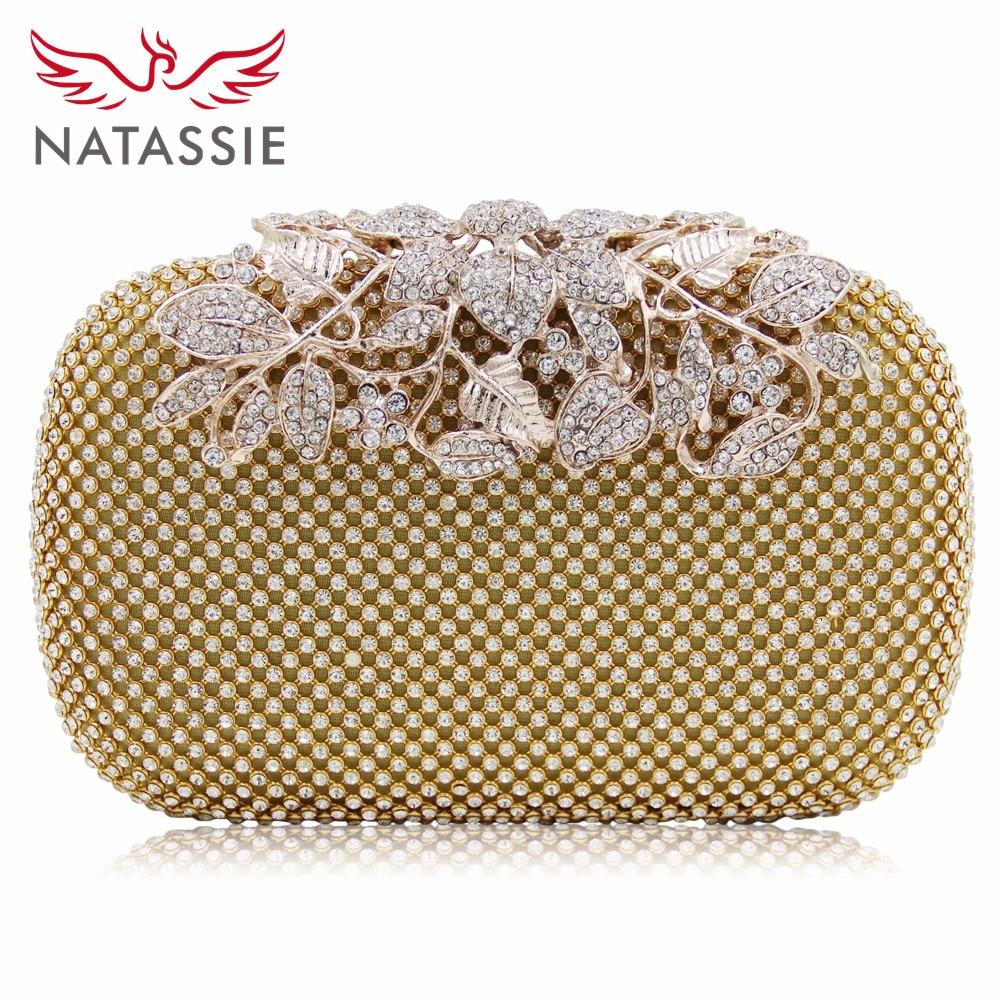 NATASSIE New Fashion Women Evening Bags Ladies Wedding Party Clutches Purses