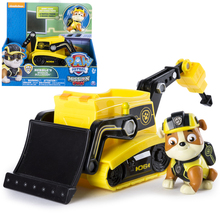 New Genuine Paw Patrol Toy Set Rubble Have Box Apollo Everest Ryder Skye Action Figure Anime Model  PVC for Children Gift