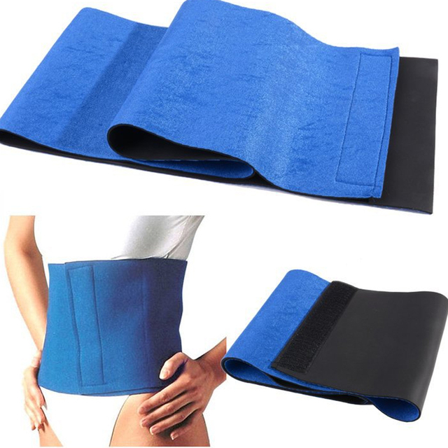 High Quality Men Belly Belt Tummy Trimmer Abdomen Elastic Waist Support Shaper Waist Belt Burn The Fat Adjustable 1
