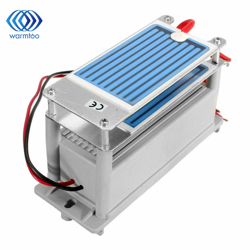 AC 220V 50W Ozone Generator 7g/h with Double Sheet Ceramic Plate Long Life Style For Air Purifier Air Sterilizer Hot Sale ceramic plate with ceramic base 5g h ozone generator for ozone generator accessory white 120mm x 50mm