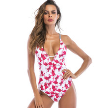 New Chest Pad Bikini Red Swimsuit No Steel Ring Ladies Beach Swimwear Quick-Drying
