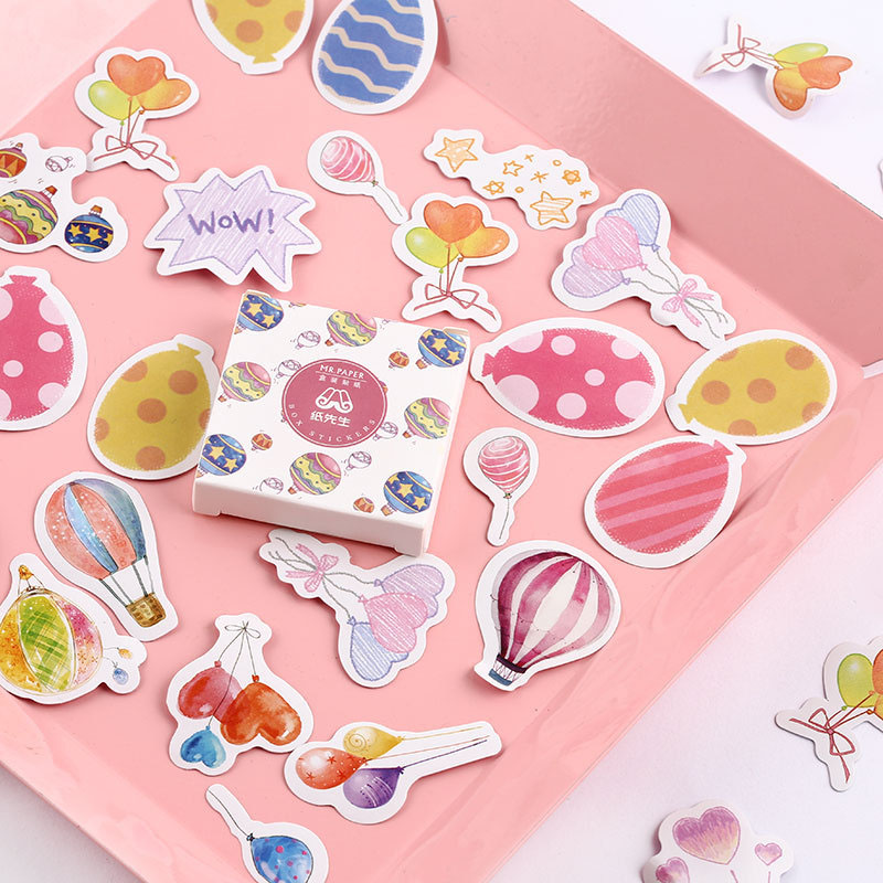 40Pcs Kawaii Whale Stickers Cute Flamingo Stationery Stickers Bullet Journal Paper Sticker For Kid DIY Scrapbooking Diary Albums