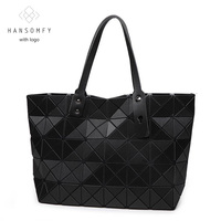 2016 Newest Matt Color 5 8 Diamond Woman Bag Geometric Handbags Fashion Shoulder Bag Sac Famous