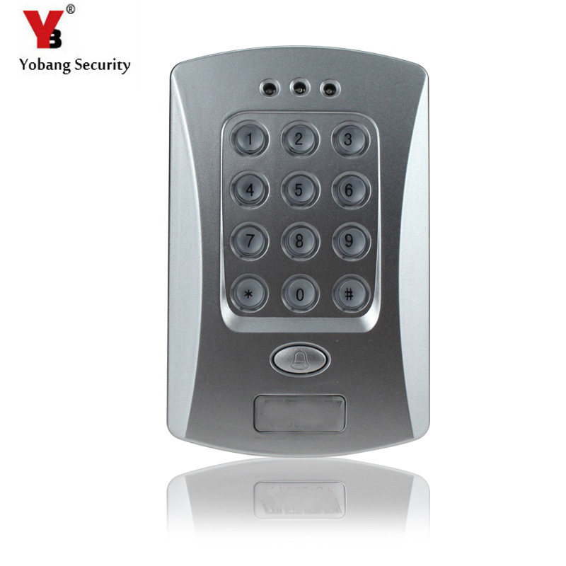 Yobang Security Password Keypad Professional Design For Home Security System RFID Access Control System Kit RFID Card KeyfobYobang Security Password Keypad Professional Design For Home Security System RFID Access Control System Kit RFID Card Keyfob