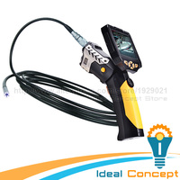5m Cable Borescope Inspection 8.2mm Camera Industrial Endoscope Video Sound Recording 4x Zoom