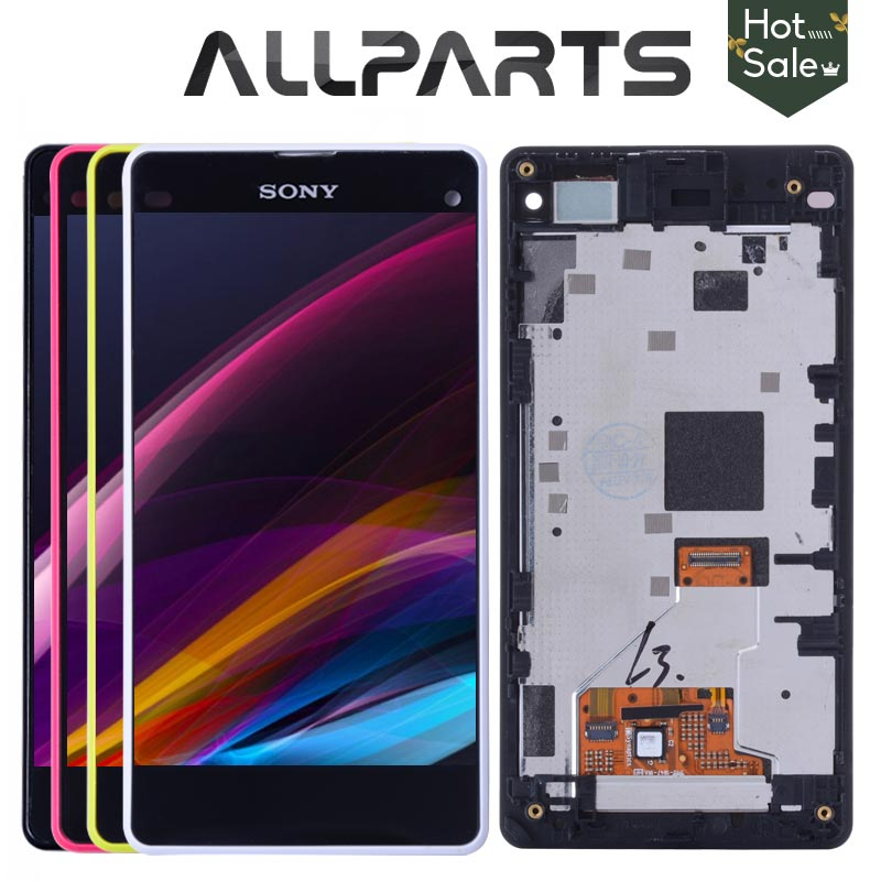 Original 4,3 ''LCD für SONY Xperia Z1 Compact Display Touchscreen Digiziter Für SONY Xperia Z1 Compact Display D5503 M51w