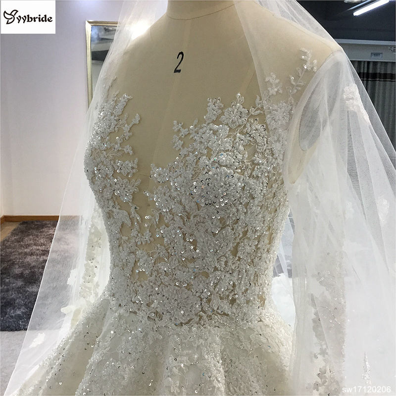 sw17120206-2 surmount custom made royal train wedding dresses 2018 ball gown long sleeves robe de soiree long robe de mariage wedding dresses Surmount Custom Made Royal Train Wedding Dresses 2018 Ball Gown Long Sleeves robe de soiree Long robe de mariage Wedding dresses HTB1ElRRgdfJ8KJjy0Feq6xKEXXaW
