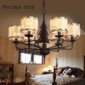 Олень американская сельская Люстра для мальчиков и девочек детская комната спальня лампы Европейский искусство освещение почтовые расход...