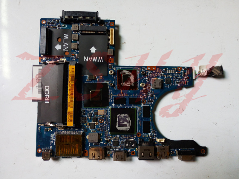 for DELL Alienware M11X R1 laptop motherboard SU7300 GT335M DDR3 0K1PWV NAP00 LA-5811P Free Shipping 100% test ok Price $96.00