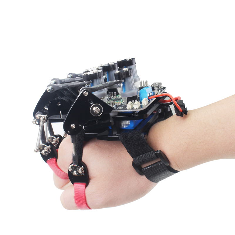 Open source glove wearable mechanical glove Somatosensory control of exoskeleton