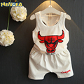 Menoea 2017 Brand New Fashion Style Baby Boy Clothing Set  Summer Children Sport Suits Vest+ Short Sleeveless Kids Clothes