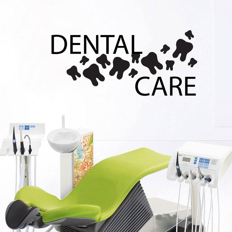Merveilleux Teeth Wall Decal Dentist Dental Clinic Wall Art Vinyl Sticker Orthodontist Wall  Decoration Dentist Office Wall Decor Murals Z280
