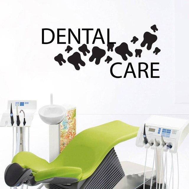 Superieur Teeth Wall Decal Dentist Dental Clinic Wall Art Vinyl Sticker Orthodontist Wall  Decoration Dentist Office Wall Decor Murals Z280