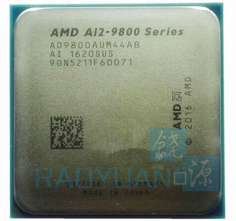 AMD A12 Series A12 9800 A12 9800 Series 3 8 GHz Quad Core CPU Processor AD9800AUM44AB