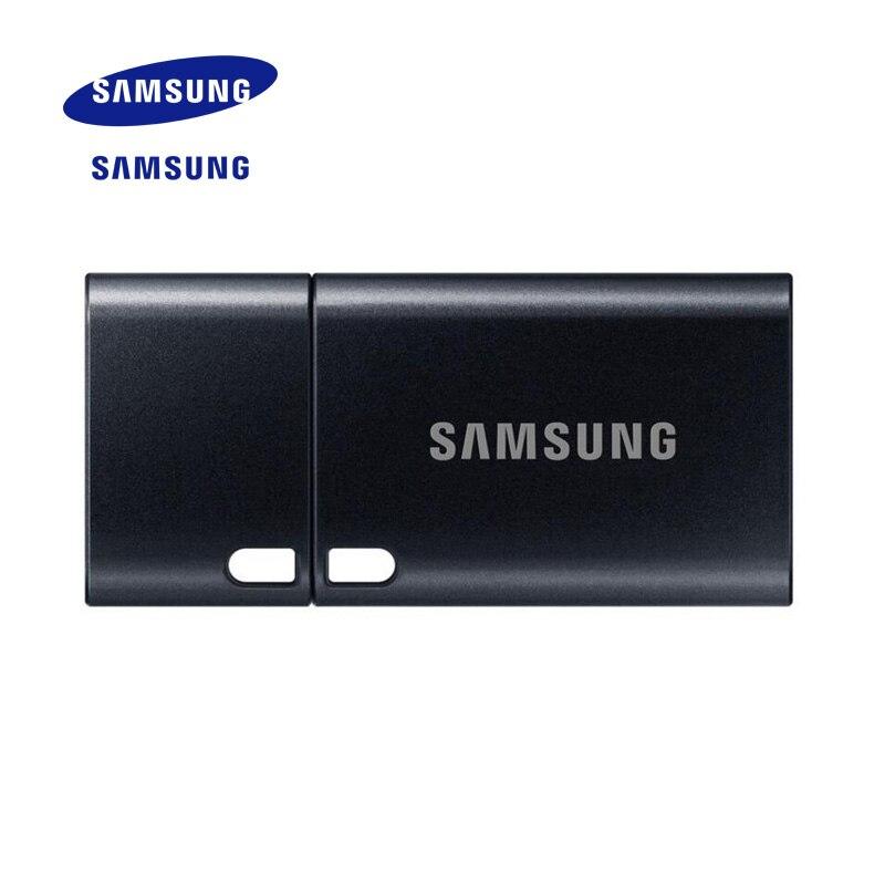 100% Original SAMSUNG Mini tipo-c USB Flash Drive USB 3,0 de alta velocidad Pen Drive pequeño Pendrive U disco 64 GB 128 GB