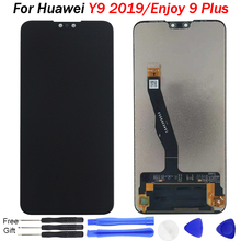 цена на Enjoy 9 Plus LCD Display Touch Screen Digitizer Assembly 6.5 inch LCD Screen Repair Parts mobile LCD For Huawei Y9 2019 Display