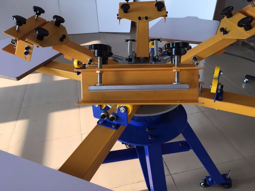 Makinë shtypi ekran 4 stacion, 4 ngjyra 4 stacion shtypjen e ekranit - Elektronikë për zyrën - Foto 2