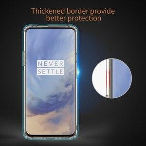 Image 3 - Oneplus 7 caso nillkin natureza clara tpu silicone macio protetor capa para oneplus 7 t um mais 7 t pro embalagem