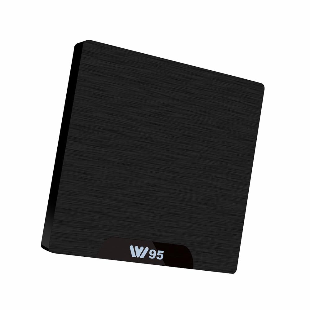 Lanxunke W95 Amlogic S905W Smart TV Box 2.4 GHz WiFi Android 7.1 1 GB/2 GB DDR3 + 8 GB/16 GB eMMC h.265 décodeur prise en charge IPTV
