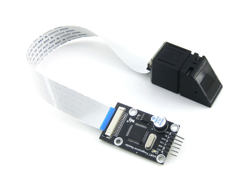 UART Fingerprint Reader Module STM32F205 Onboard Fingerprinting Module Algorithm TFS-9 Optical Sensor TFS-D400 Development Kit