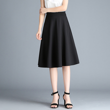 78/ 55/ 45 /35cm Office Women Pleated Skirt Summer Spring Female Elegant Black White Pink Blue Skirts OL Clothing