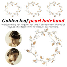 Fashion Gold Plated Metal Leaf Headband Vintage Butterfly Hairband for Women Wedding Tiara Elegant Silver Leaves accesorios stylish gold plated filigree pumpkin car hairband for women