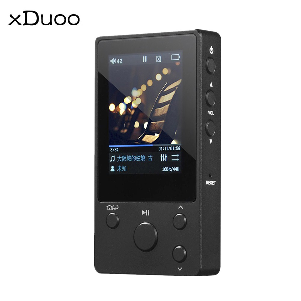 XDUOO Nano D3 MP3 Player 8GB Professional Lossless Music MP3 HiFi Music Player With HD IPS Screen Pk X10T MP4 Player музыка mp3 yescool mp3 music player lossless noise reduction обучение high definition screen card mp4 sports portable walkman 8gb x2 rose gold