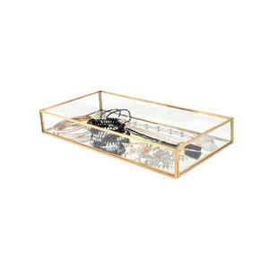 Image 5 - Phenovo مستطيل مربع المجوهرات الزجاج علبة مجوهرات منضدية نبات عصاري صندوق لغرس المزروعات مربع المجوهرات الزجاج علب للمجوهرات عرض