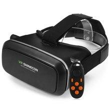 ขายร้อน!ร้อนขายVR SHINECON 3Dความจริงเสมือนหัวติด3Dแว่นตาวิดีโอที่มีB100บลูทูธ3.0ควบคุมระยะไกลสำหรับ6.