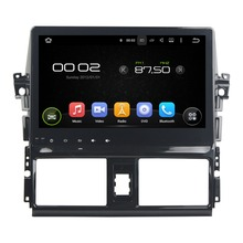 10.1 inch Quad Core Android 5.1 Car Radio Stereo For Toyota Yaris 2014 2015 Car GPS Navigation+Bluetooth+WiFi+Mirror Link
