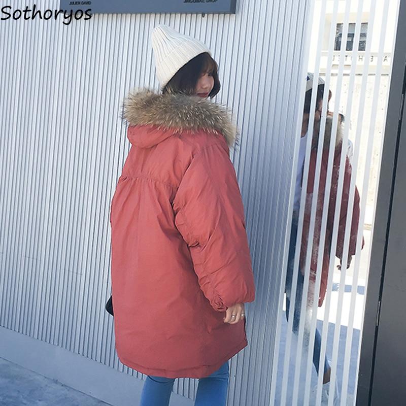 Coréenne Loisirs black gray allumette Kawaii Solide Éclair Capuchon Femmes Parcs Coton Poches Simple Étudiants Fermeture À Tout white Quotidien Longue Manteaux Outwear Red OqR16ZRYw