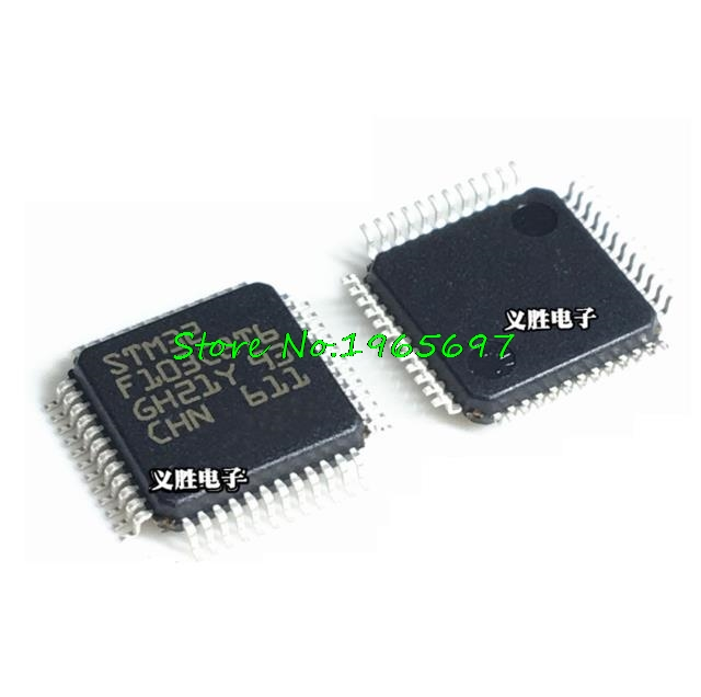 10pcs STM32F103C8T6 STM32F103C8T6TR MCU ARM IC ST LQFP-48