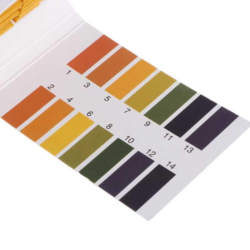 Test Papier 1-14PH Oplossing Strips Litmus 80 Pcs Tool Kit Indicator Aquarium Vijver