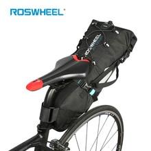 ROSWHEEL ATTACK 100 100 Waterproof Cycling Saddle Bag MTB Bicycle Seat Bag Wheel Bag Backpack Camping