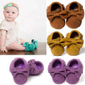 Best Seller wholesale baby shoes cute lovely autumn winter  Baby Crib Tassels Bowknot Toddler Sneakers Casual Shoes Feb707
