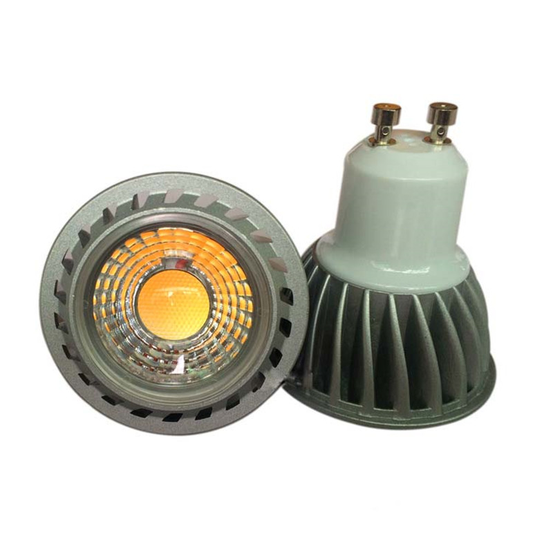 5W LED GU10 Bulb COB Spotlight With 40W Halogen Light Replacement For Living
