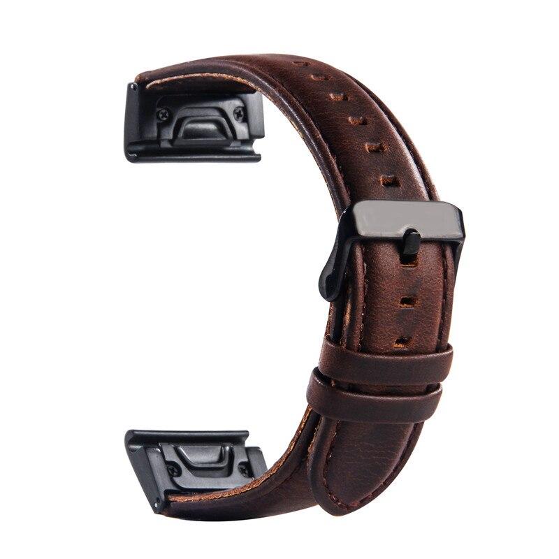 Garmin Fenix 3 Armband 26 Mm 22 Mm Garmin Lederband Fur Fenix 3