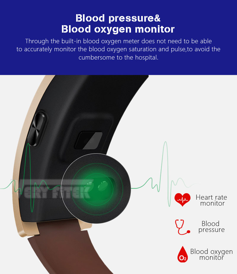 VERYFiTEK CK11S Fitness Bracelet Blood Pressure Smart Wristband heart rate monitor pulsometer Bracelets for xiomi pk fit bit-01 (15)