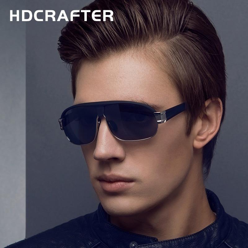 Mode Herr Polariserade Solglasögon för män Vintage Uv400 - Kläder tillbehör - Foto 1