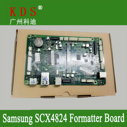 ФОТО Original Formatter board for Samsung SCX4824 main board mother board PBA-MAIN for JC92-02038A remove from new machine