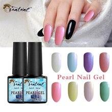 hot deal buy 8ml shell nail gel polish mermaid uv gel varnish pearl shell gel nail lacquer semi permanent lucky gel nail sell all nail design
