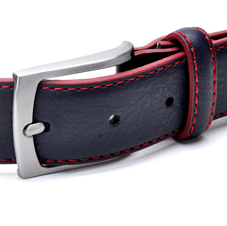 Man Belt Split Leather Italian Design Casual Mens Leather Belts For Jeans