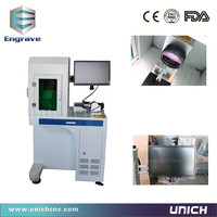 Easy Operation Air Cooling LXJFiber 20w Laser Marking Price