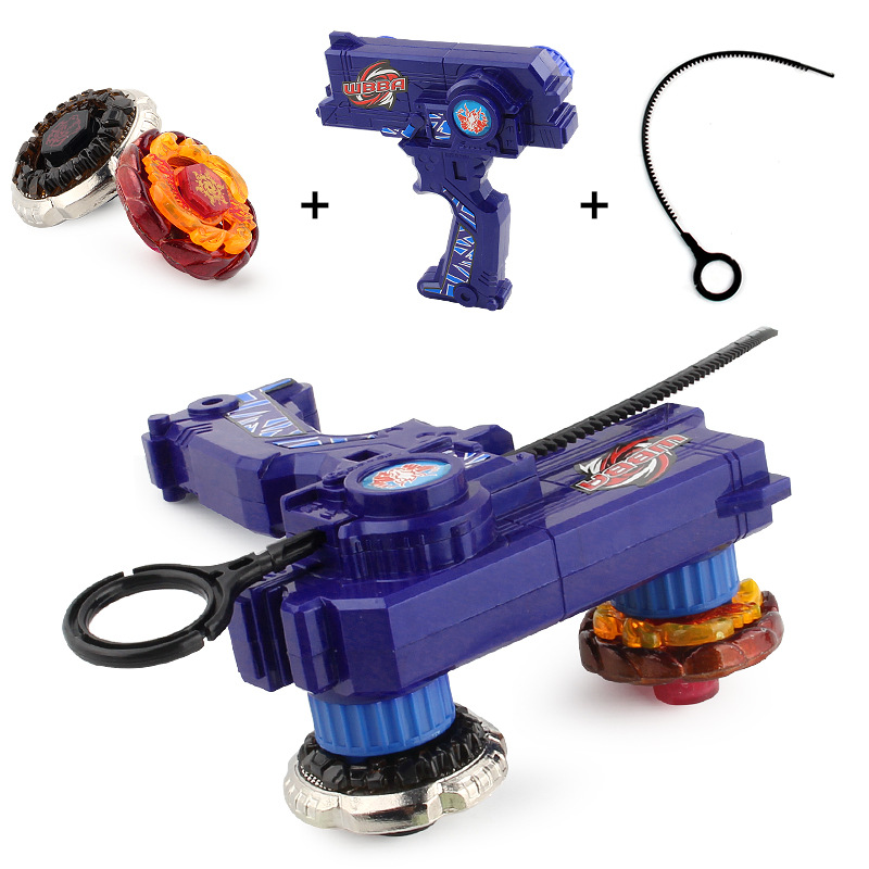 Beyblade Burst Metal Fusion 4D Launcher double Beyblade Spinning Top set Kids Game Toys Christmas Gift for Children