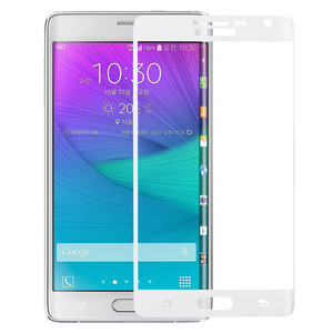 Image 3 - Оригинальная 3D изогнутая поверхность для Samsung Galaxy Note Edge, полное покрытие экрана, Взрывозащищенная пленка из закаленного стекла для N9150